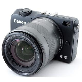 キヤノン(Canon)の❤️スマホ転送♪カメラ女子に大人気❤️Canon EOS M2 レンズキット❤️(ミラーレス一眼)
