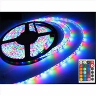 16色 LED テープライト 5m 300連 防水 リモコン付(その他)