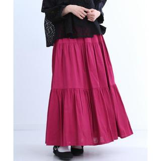 メルロー(merlot)の新品 未使用 タグ付き merlot メルロー フレア切替スカート(ロングスカート)