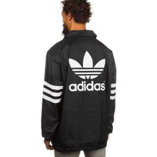 アディダス(adidas)の【激レア】adidas originals コーチジャケット ブラック×ホワイト(パーカー)