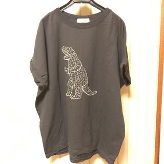 ダブルネーム(DOUBLE NAME)のDouble Name ビッグシルエットTシャツ フリーサイズ(Tシャツ(半袖/袖なし))
