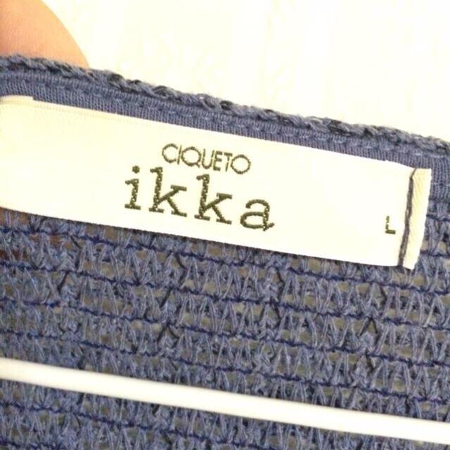 ikka(イッカ)のTIMEsale♡ikka PO レディースのトップス(カットソー(長袖/七分))の商品写真
