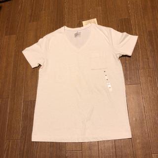ムジルシリョウヒン(MUJI (無印良品))のVネック半袖Tシャツ(Tシャツ(半袖/袖なし))