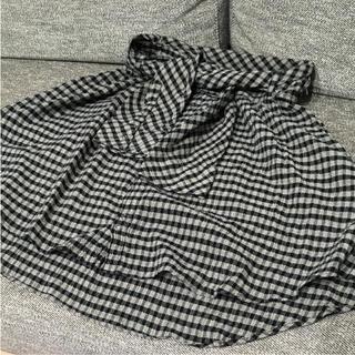 アンスクウィーキー(UNSQUEAKY)のアンスク チェックスカート(ひざ丈スカート)