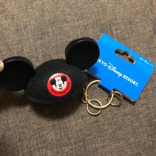 ディズニー(Disney)のTDL♥️イヤーハットキーチェーン💗ミッキー(キーホルダー)