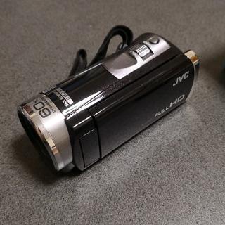 ビデオカメラ エブリオ フルハイビジョン 予備バッテリ付き【美品】(ビデオカメラ)