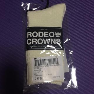 ロデオクラウンズワイドボウル(RODEO CROWNS WIDE BOWL)のレディース 靴下(ソックス)