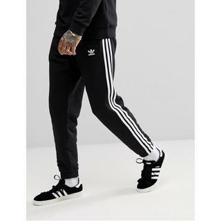 adidas - 【Mサイズ】新品タグ付 adidas  3ストライプ スウェットパンツ ブラック