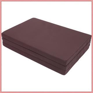 送料無料✦マットレス マ シングル 厚さ6cm (ブラウン)(シングルベッド)