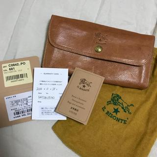 イルビゾンテ(IL BISONTE)のIL BISONTE イルビゾンテ 長財布 ナチュラル(財布)