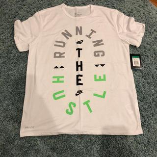 ナイキ(NIKE)の[NIKE]NIKE RUN DRI-FIT TEE   XLサイズ(Tシャツ/カットソー(半袖/袖なし))