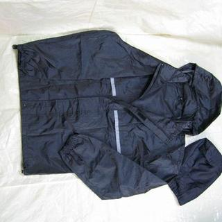 SKY ER-02 レインスーツ  Lサイズ 上下セット 収納袋付(その他)