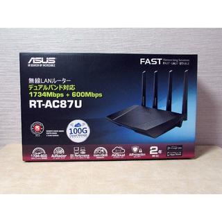 エイスース(ASUS)のASUS RT-AC87U 無線LANルータ(PC周辺機器)
