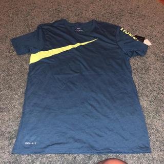 ナイキ(NIKE)の[NIKE]DRI-FIT  NIKE big swoosh TEE  Lサイズ(Tシャツ/カットソー(半袖/袖なし))