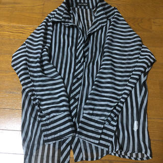 ストライプシャツ(シャツ/ブラウス(長袖/七分))