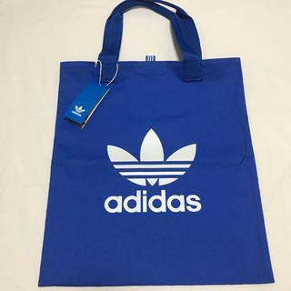アディダス(adidas)の新品 アディダスオリジナルス トートバッグ ブルー 男女兼用(トートバッグ)