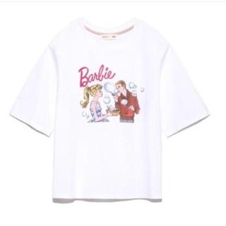 リリーブラウン(Lily Brown)の新品未使用💖 正規品💖Barbieコラボ Tシャツ(Tシャツ(半袖/袖なし))