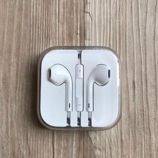 アップル(Apple)の【新品未使用】iPhoneイヤホン Apple純正(ヘッドフォン/イヤフォン)