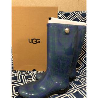 アグ(UGG)のUGGレインブーツ✨新品未使用 24センチ(レインブーツ/長靴)