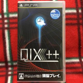 プレイステーションポータブル(PlayStation Portable)のPSPゲームソフト クイックス プラスプラス タイトー QIX(携帯用ゲームソフト)
