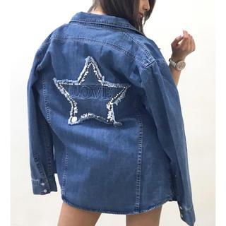 新品♡DaTuRa♡星デコシャツ♡