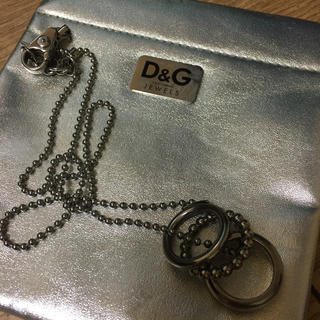 ドルチェアンドガッバーナ(DOLCE&GABBANA)のD&G 3連リングネックレス(ネックレス)