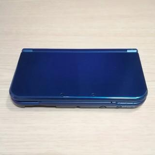 ニンテンドウ(任天堂)のnewNINTENDO3DSLL 本体 メタリックブルー(携帯用ゲーム本体)