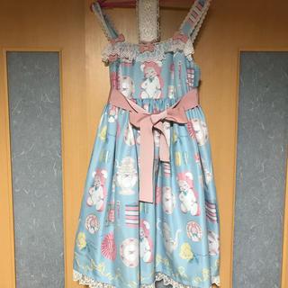 アンジェリックプリティー(Angelic Pretty)のAngelic Pretty Doll's Tea Party 今井キラ お茶会(ひざ丈ワンピース)