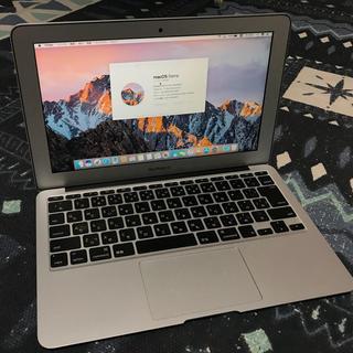 マック(Mac (Apple))のMacbook Air 11インチ 2012 美品 i5 256GB(ノートPC)