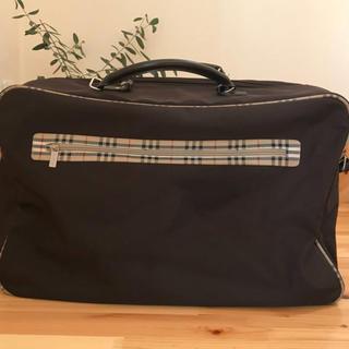 バーバリー(BURBERRY)のバーバリーフレグランス ボストンバッグ  旅行鞄(ボストンバッグ)
