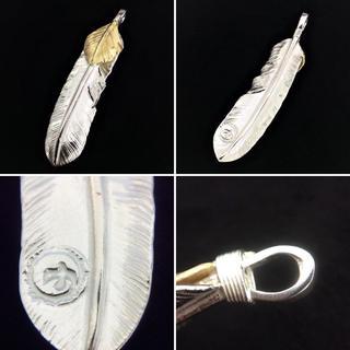 ゴローズ(goro's)のgoro'sゴローズ 上金(左) メタル付(右) 上銀金縄(右)(ネックレス)