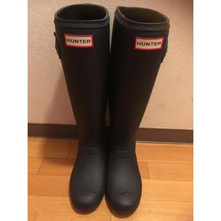 ハンター(HUNTER)の美品★HUNTERブーツ(レインブーツ/長靴)