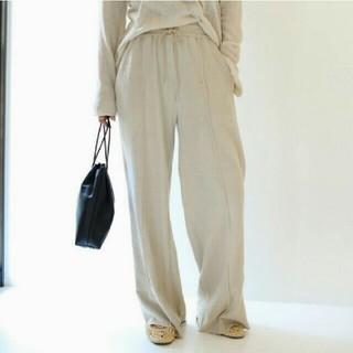 トゥデイフル(TODAYFUL)のTODAYFUL Linen gather pants(カジュアルパンツ)