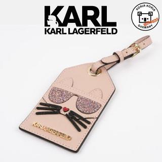 カールラガーフェルド(Karl Lagerfeld)のカールラガーフェルド★カード入れネコストラップ!(キーホルダー)