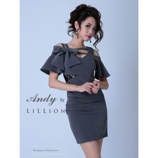 アンディ(Andy)のlillion andy ♡ ミニドレス 完売商品(ミニドレス)