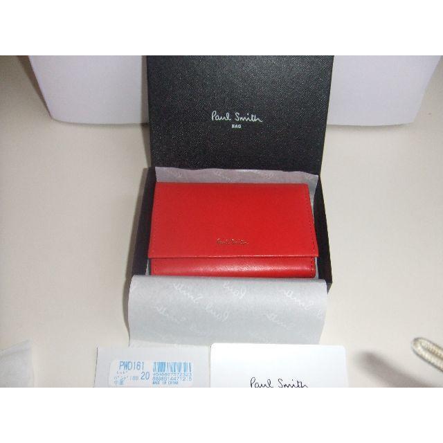 Paul Smith(ポールスミス)の新品未使用ポールスミス名刺入れ・カード入れ レディースのファッション小物(名刺入れ/定期入れ)の商品写真