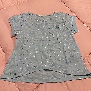 ジーユー(GU)のドット柄カットソー(Tシャツ/カットソー)