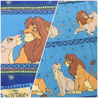 ディズニー(Disney)のSale(● ˃̶͈̀ロ˂̶͈́)੭ꠥ⁾⁾ライオンキング(生地/糸)