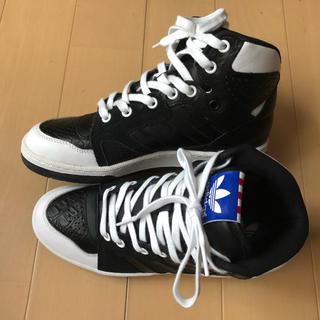 アディダス(adidas)のアディダス ハイカット スニーカー 23.5cm(スニーカー)