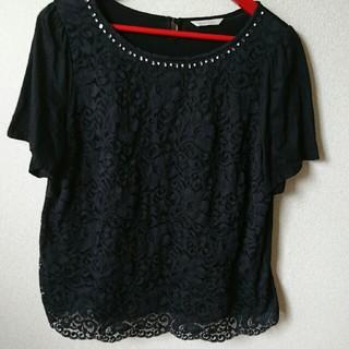 ローズティアラ⭐レース半袖(Tシャツ(半袖/袖なし))