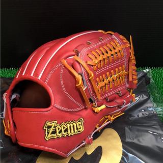 ジームス(Zeems)の野球グローブ 新品未使用 ジームス 硬式内野手 湯もみ加工 定価45000円(グローブ)