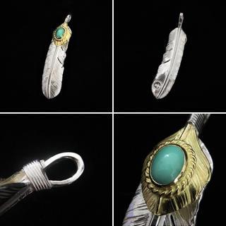 ゴローズ(goro's)のgoro'sゴローズ 上金金縄(左)(右) メタル付(左)(右)(ネックレス)