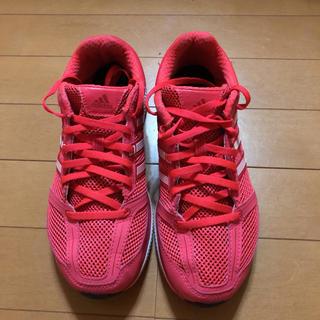 アディダス(adidas)のアディダスランニングシューズ(24.0㎝)(シューズ)