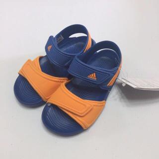 アディダス(adidas)の17cm新品 アディダス adidas 子供 ジュニア キッズ サンダル  (サンダル)