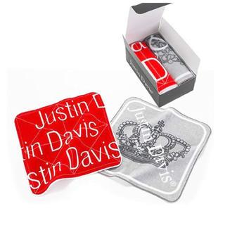 ジャスティンデイビス(Justin Davis)の☆ノベルティ☆【JUSTIN DAVIS】  ハンドタオル(ノベルティグッズ)