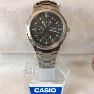 カシオ(CASIO)の新品未使用‼️CASIO EDIFICE カシオ エディフィス メンズ 腕時計(腕時計(アナログ))