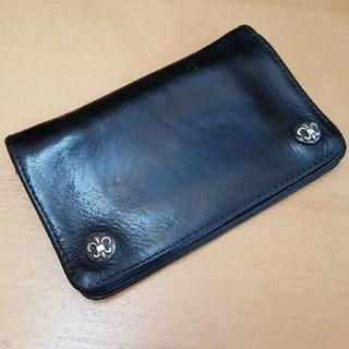 クロムハーツ(Chrome Hearts)のCHROME HEARTS クロムハーツ 財布 1zip(折り財布)