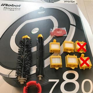 アイロボット(iRobot)のルンバ交換フィルタ、メインブラシ、フレキシブルブラシ(掃除機)