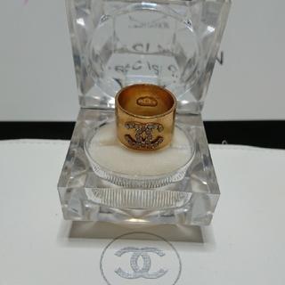 CHANELシャネルのCoCoマーク指輪です。サイズ12号
