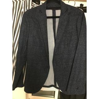ザラ(ZARA)の新品ザラ薄手ネイビージャケット サイズM(テーラードジャケット)